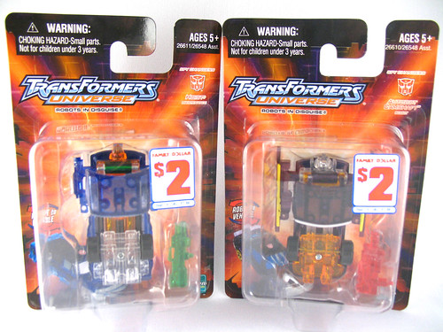 "TFU Spychangers Hoise and Camshaft (Family Dollar ""exclusives"") 