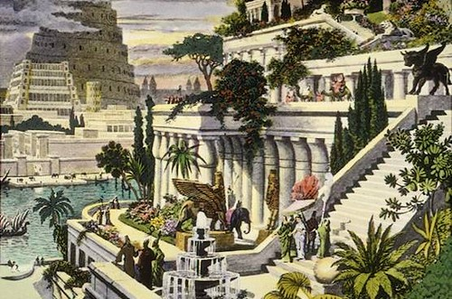 Hanging Gardens of Babylon | by Carla216