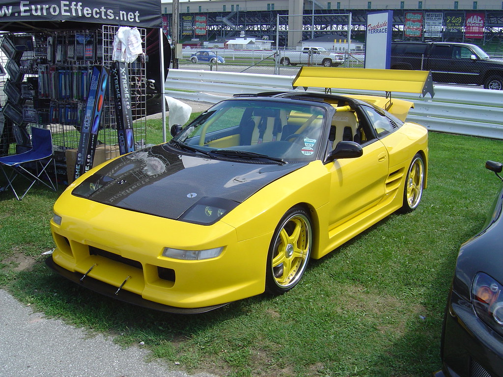 Toyota Mr2 With Wide Body Kit I Like The Car But Dont Flickr Kits By Tweets95