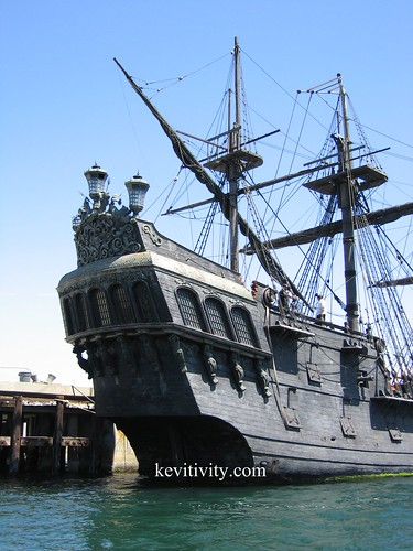 The Black Pearl - up close, LA California | by Kevitivity