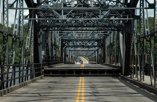 Stillwater Bridge, Stillwater, Minnesota & Houlton, Wisconsin | by Thad Roan - Bridgepix