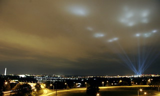 The Pentagon's tribute in light | by @mjb