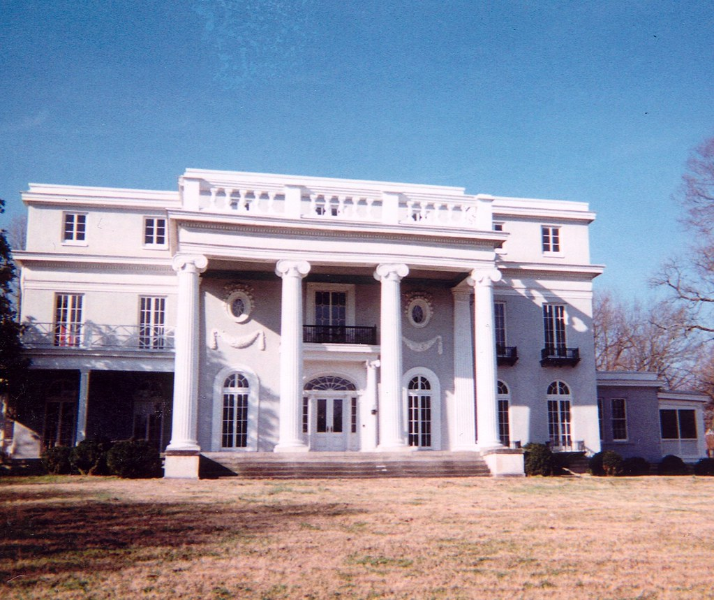 Longview mansion this old mansion on the national for Nashville tn house plans