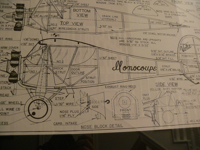 velie monocoupe plan my family used to make planes and car flickr rh flickr com Residential Electrical Wiring Diagrams Simple Wiring Diagrams