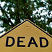 dead sign