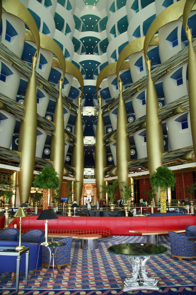 Dubai hotels 7 star inside the image for The seven star hotel in dubai