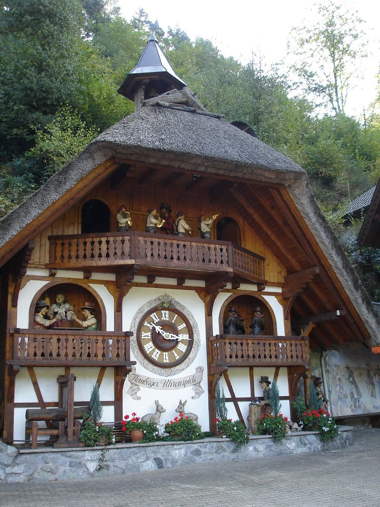 Black Forest, Germany | Life-size working cockcoo clock | Flickr