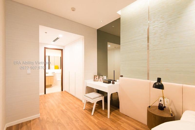 Nhà mẫu Richlane Residences Mapletree phòng ngủ