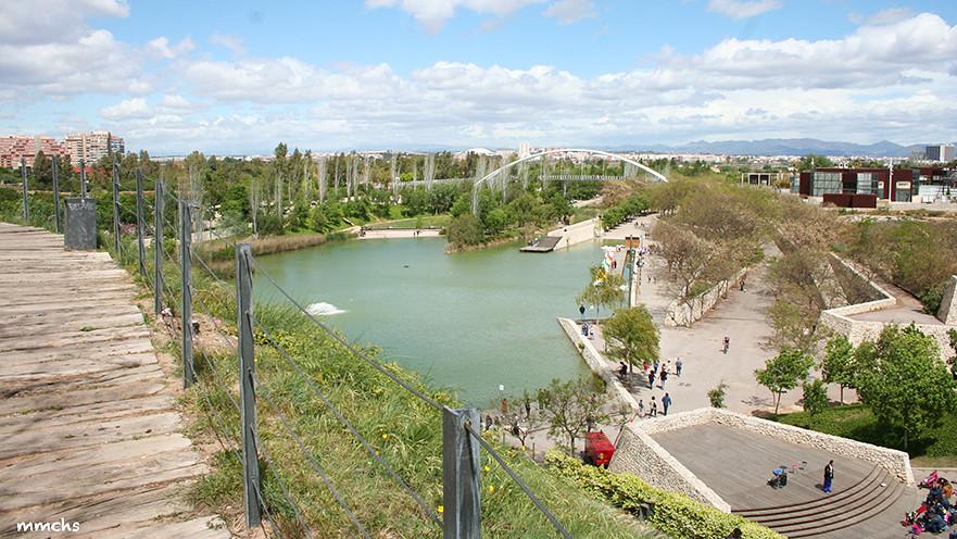 lago parque de cabecera