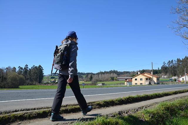 Andy, Camino de Santiago, Galicia