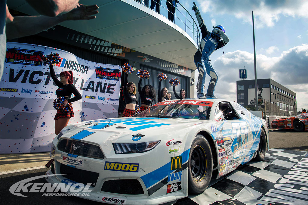 Euro NASCAR: victories and podiums for KENNOL in Valencia.