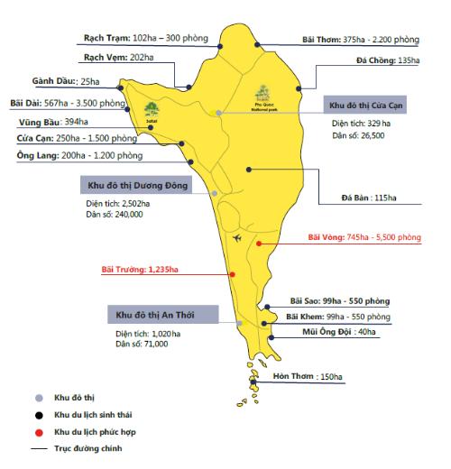 Quy hoạch phát triển du lịch Phú Quốc tới năm 2030
