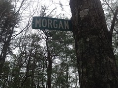 Morgan Dairy Sign Upper Front