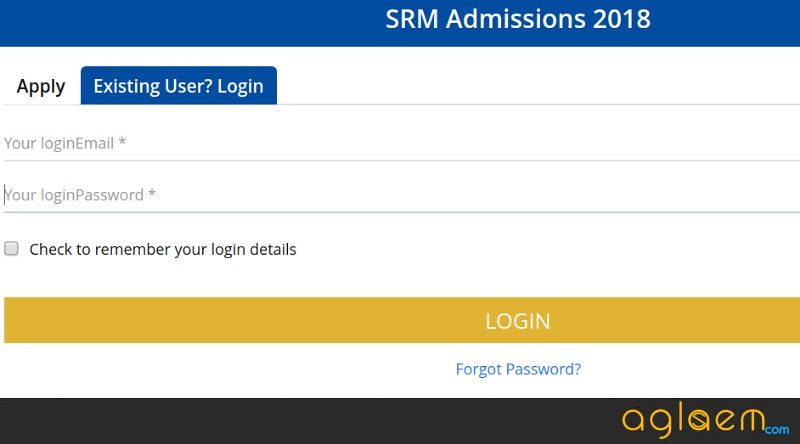 SRMJEEE 2018 Admit Card (Available)  Download SRM Admit Card 2018 Here