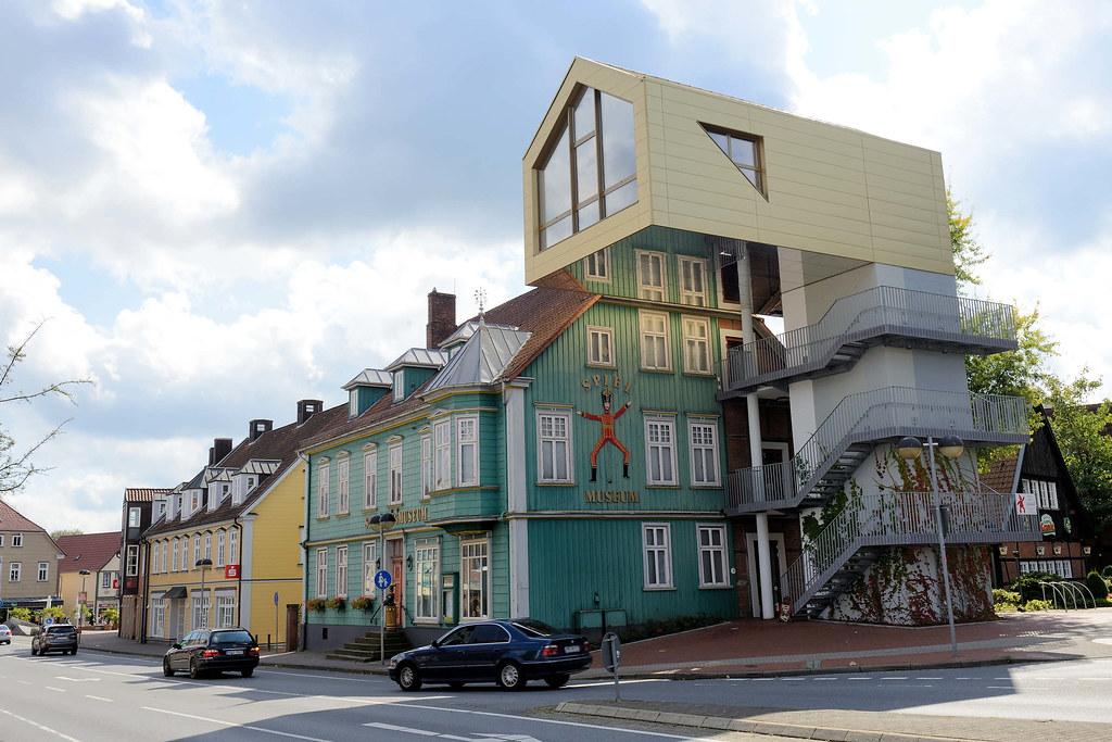 Dsc 0904 Blick In Die Poststrasse Von Soltau Zum 1984 Gegru Flickr
