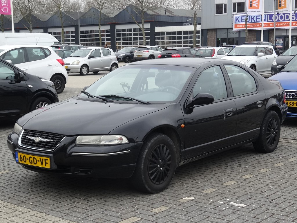 2000 Chrysler Stratus | From 1995 until 2000 the Stratus ...