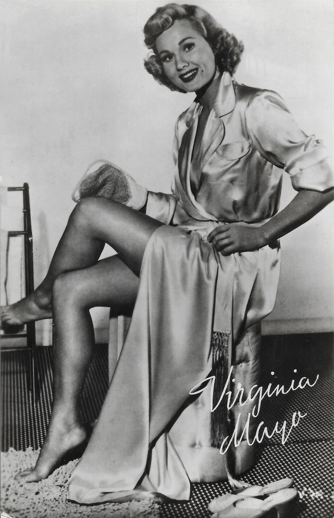 A TRIP DOWN MEMORY LANE: BORN ON THIS DAY: VIRGINIA MAYO