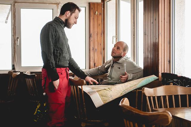 Σχέδια επί χάρτου από τον Ηλία και τον Mike