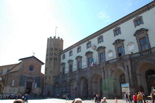 Plaza del Duomo en Orvieto
