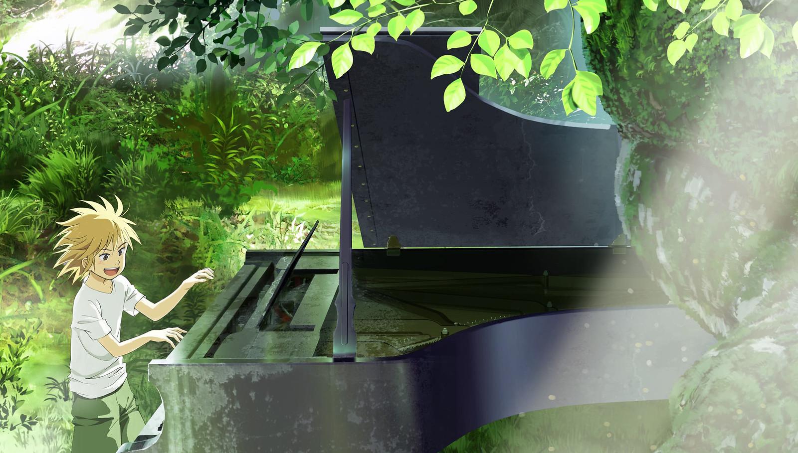180406 -「悠木碧」是新版丸山誉子、東京GAINAX STUDIO公司第一部動畫《ピアノの森》將在8日歡樂放送!