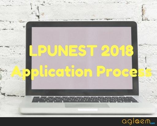 LPUNEST 2018 Application Form