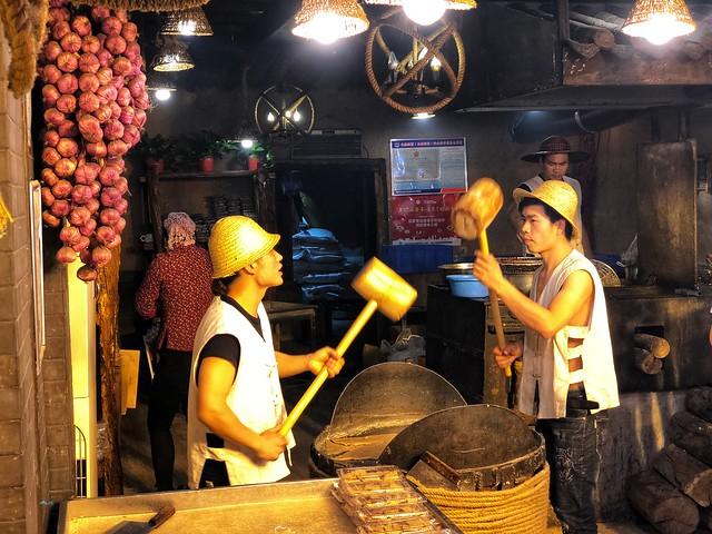 Mercado de Xian por la noche (China)