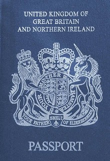 New Blue British #Passport design released by France via @jamesmjharrison | by dullhunk