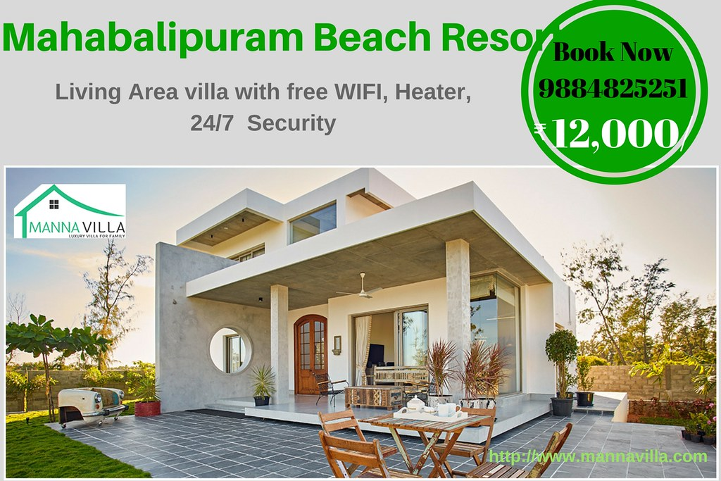 Mahabalipuram beach resorts beach house in ecr for rent flickr for Ecr beach resorts with swimming pool prices
