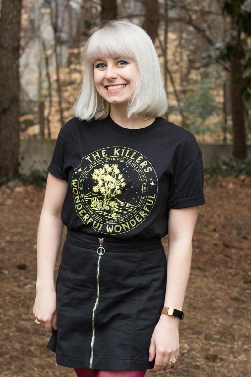 3b1cf1d59 The Killers Wonderful Wonderful Concert Tee