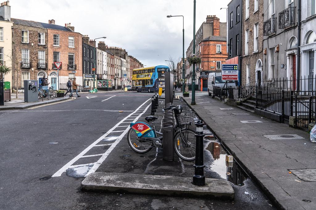 DUBLIN BIKES DOCKING STATION No.2 ON BLESSINGTON STREET