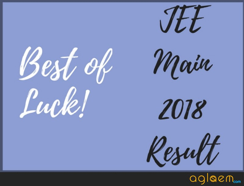 How To Check JEE Main 2018 Result