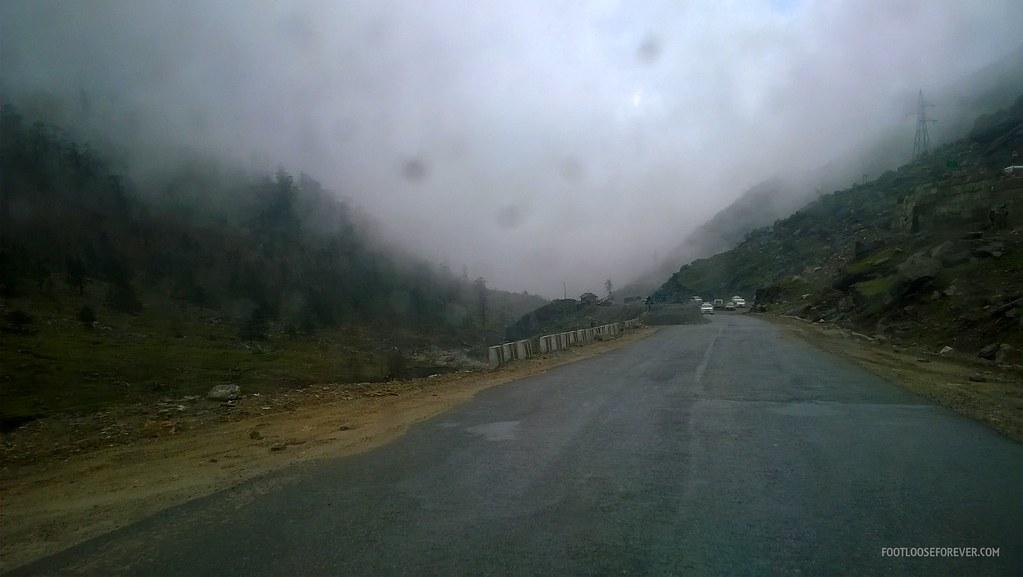 sikkim, himalayas, cloudy, rain
