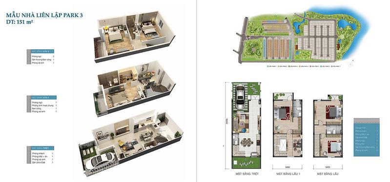 7 thiết kế nhà phố liên kế nổi bật tại dự án Park Riverside 6