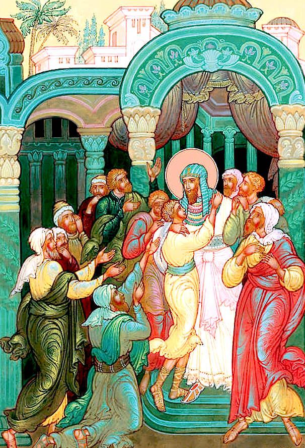 Иосиф открывается братьям.