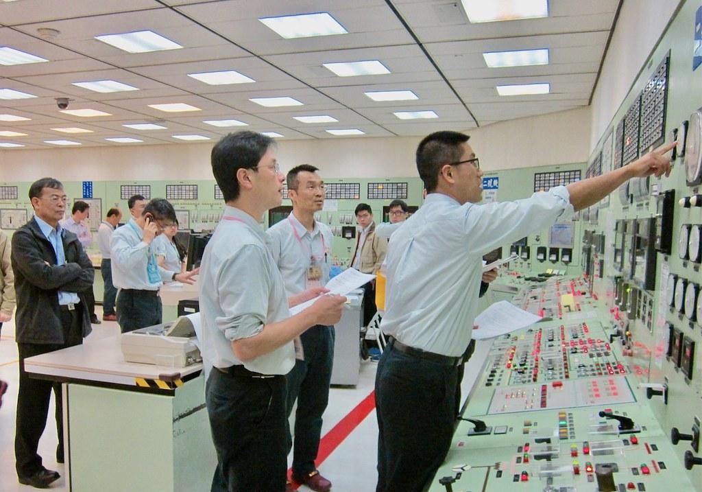 核二2號機控制室。資料照,台電提供