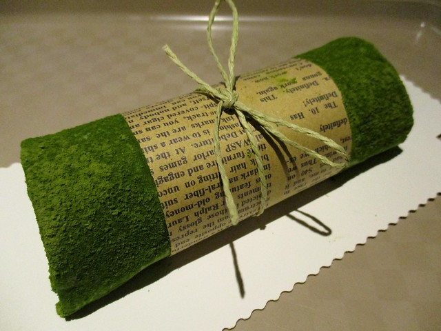 Food Bazaar matcha crepe roll 1