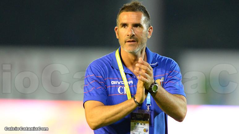 Cristiano Lucarelli, a breve ex tecnico del Catania
