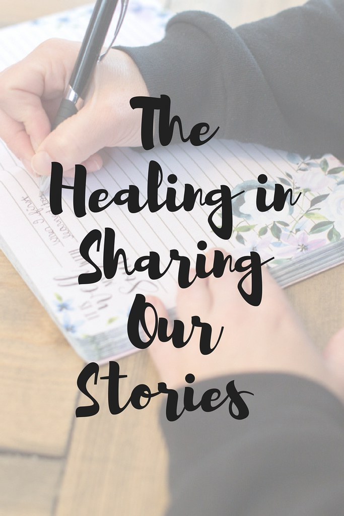 What are the benefits to sharing our stories face-to-face and/or online?