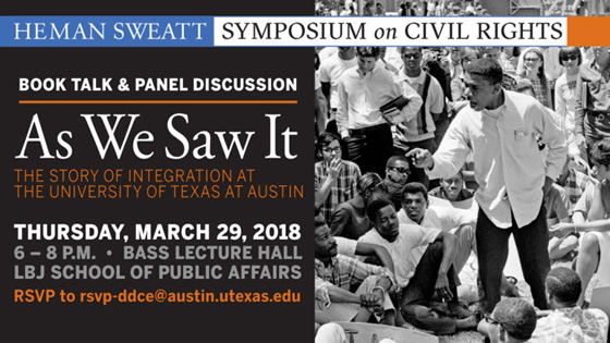 Heman Sweatt Symposium on Civil Rights banner