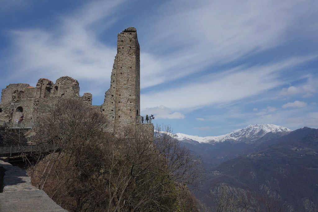 Hiking to La Sacra di San Michele, Torino, Italy | John Meckley | Flickr