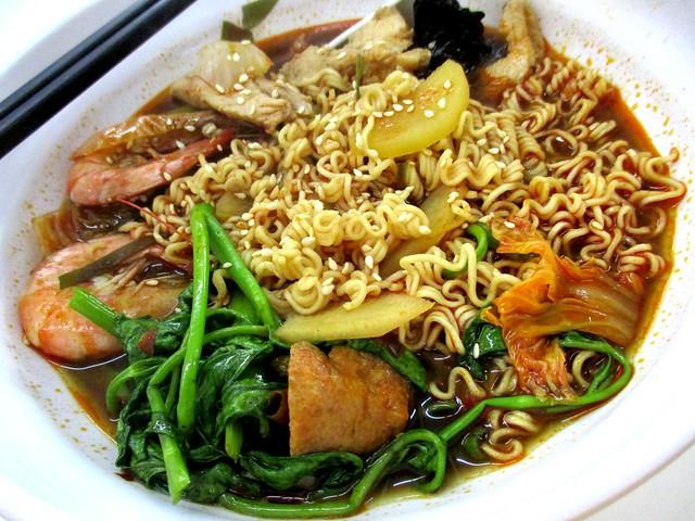 Grand Wonderful Food Court RM18 noodles