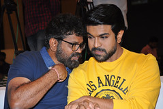 Rangasthalam Thanks Meet Stills