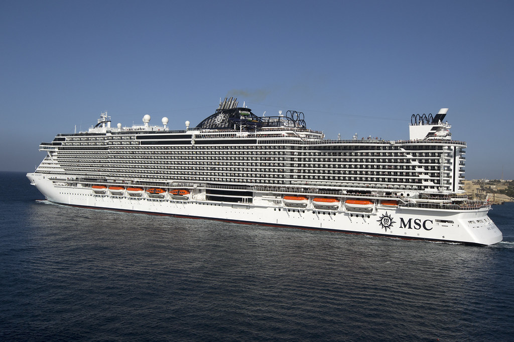 MSC Seaview | The MSC Cruises ship MSC Seaview on its ...
