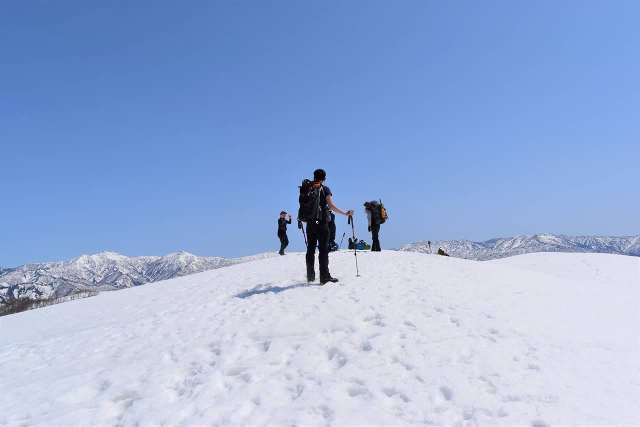 日向倉山山頂