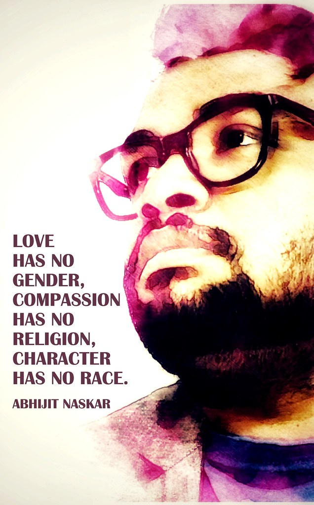 Love Has No Gender Compassion Has No Religion Characte Flickr