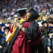 On Thursday, May 10, more than 1,100 graduates from the College of Public Health and the School of Social Work, representing more than 30 programs, received their degrees at the College of Public Health Graduation Ceremony in the Liacouras Center.