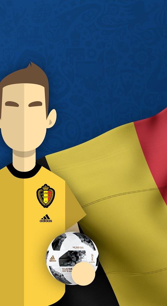 Team Belgium Football World Cup 2018 Iphone X Wallpaper Flickr