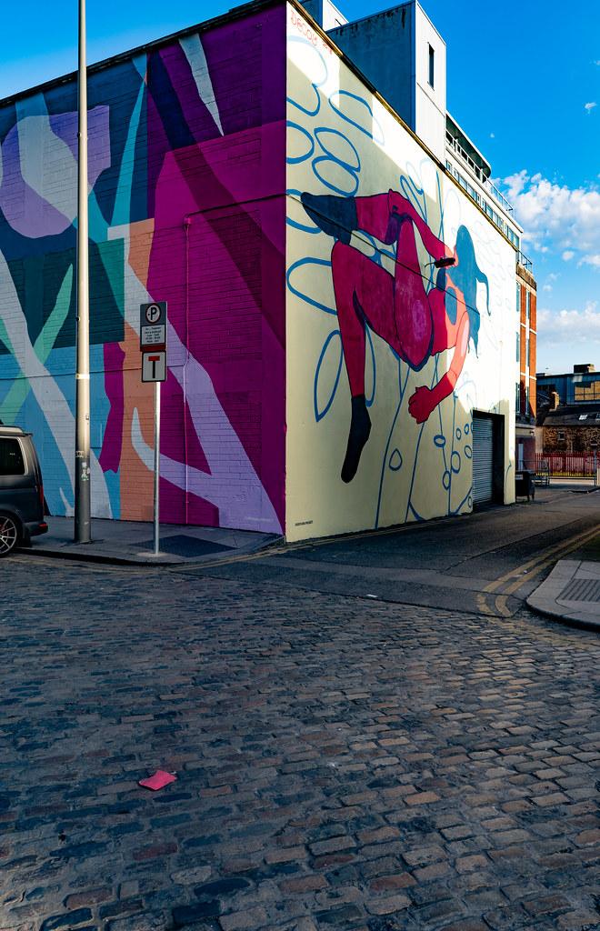 DUBLIN STREET ART IN SMITHFIELD [BURGESS LANE - HAYMARKET] 002