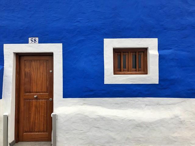 Casa del barrio de San Cristóbal en Las Palmas de Gran Canaria