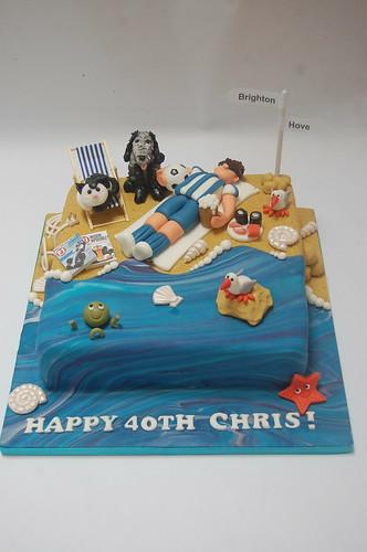 Stupendous Brighton Beach Cake Beautiful Birthday Cakes Funny Birthday Cards Online Necthendildamsfinfo